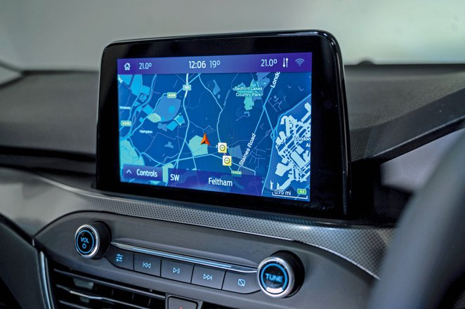 Ford Focus 2021 infotainment