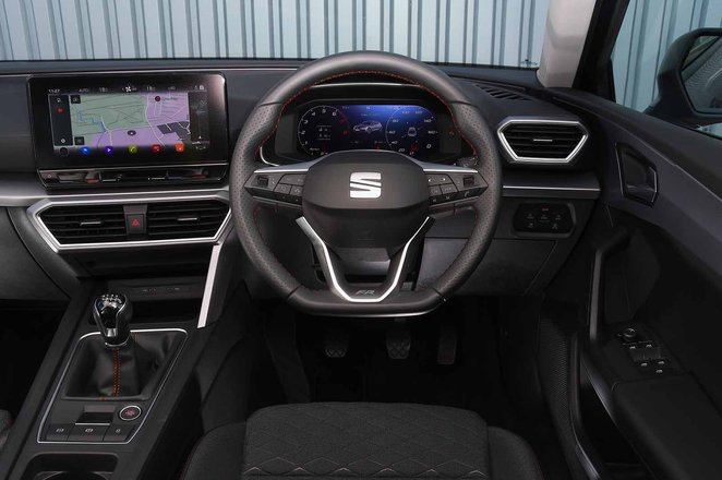Seat Leon 2021 dashboard