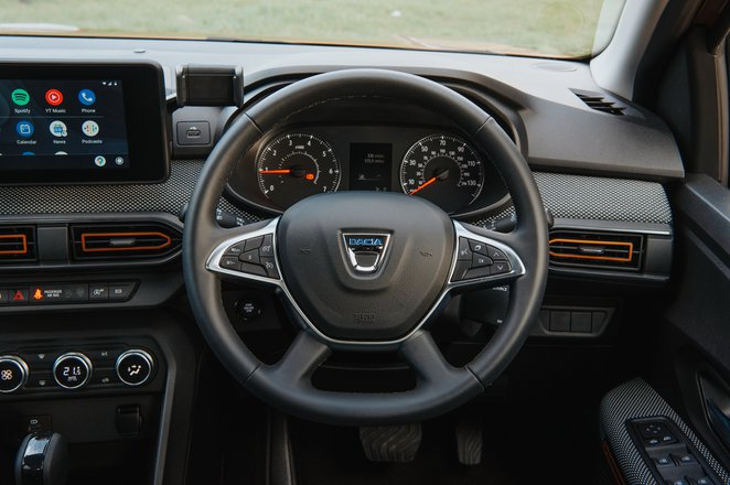 Dacia Sandero Stepway 2021 dashboard