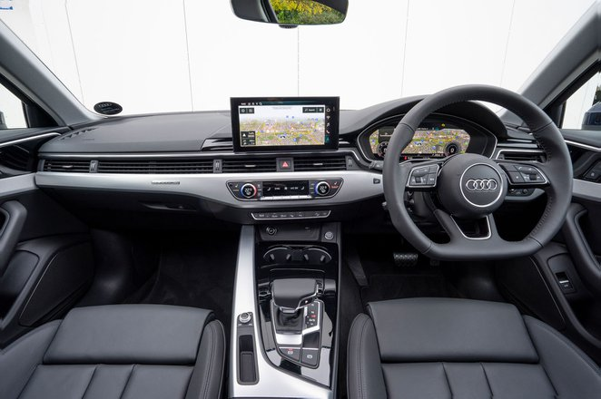 Audi A4 Allroad 2021 dashboard
