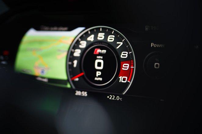 Audi R8 2021 interior infotainment