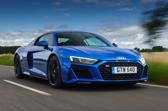 Audi R8 2021 front