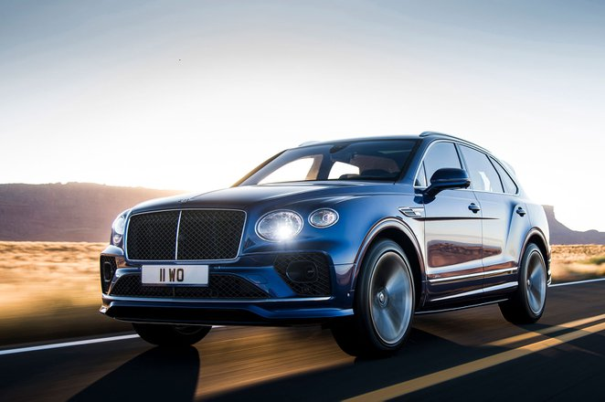 Bentley Bentayga Speed 2021 front tracking