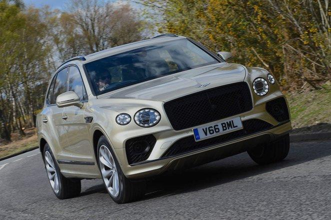 Bentley Bentayga 2021 front