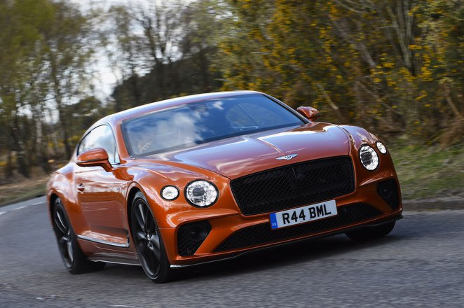 Bentley Continental GT V8 2021 front