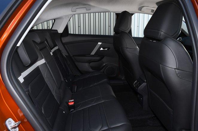 Citroën C4 2021 interior rear seats