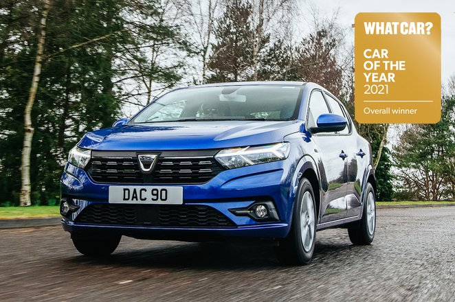 Dacia Sandero 2021 front - Car of the Year