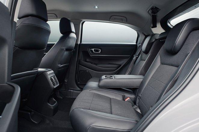 2021 Honda HR-V rear seats