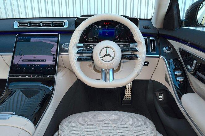 Mercedes S-Class 2021 interior dashboard