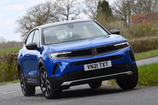 Vauxhall Mokka 2021 front cornering