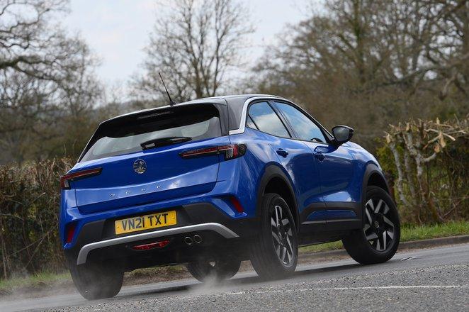 Vauxhall Mokka 2021 rear cornering