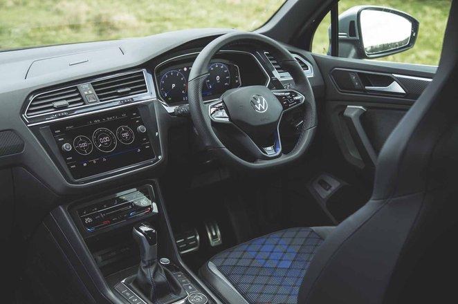 Volkswagen Tiguan R 2021 dashboard