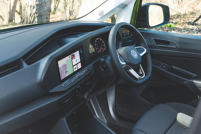 Volkswagen Caddy 2021 dashboard