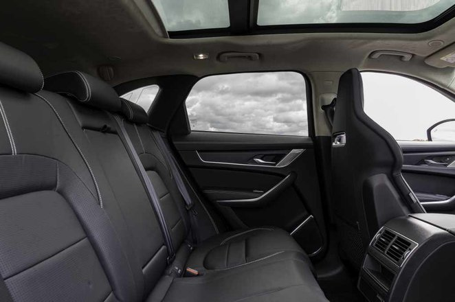 Jaguar F-Pace 2021 interior rear seats