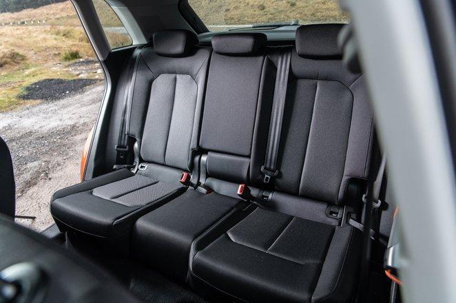 Audi Q3 2021 interior rear seats