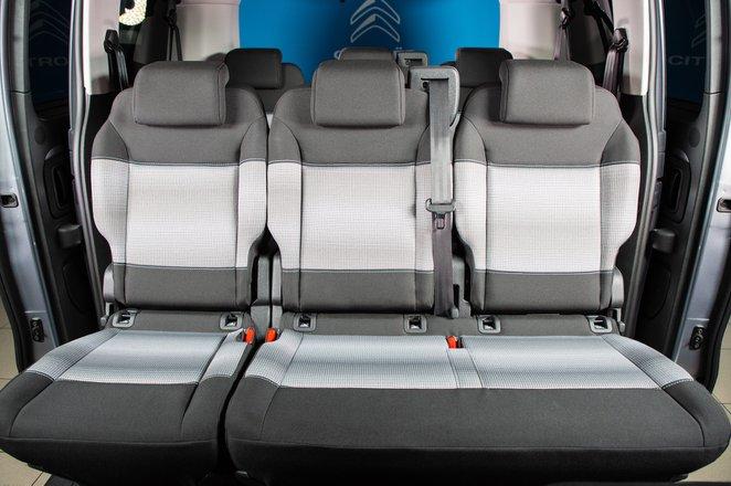 Citroën e-Spacetourer 2021 interior rear seats