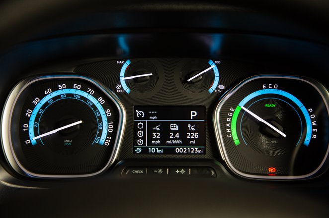 Citroën e-Spacetourer 2021 interior driver display