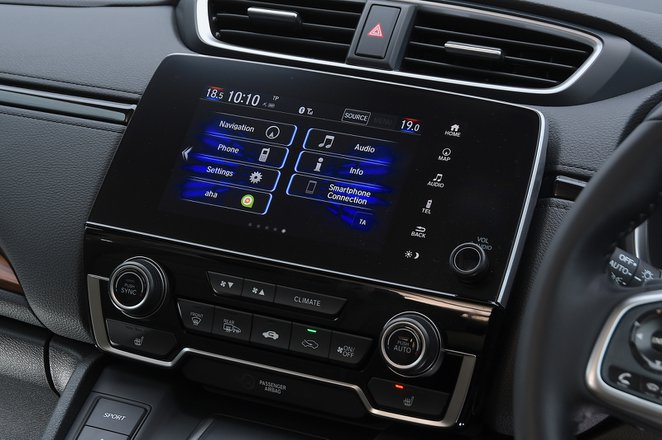 Honda CR-V 2021 interior infotainment