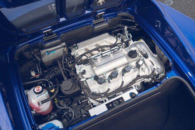 Lotus Elise Sport 240 Final Edition 2021 engine