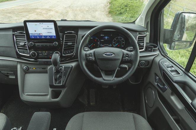 Ford Tourneo Custom 2021 interior dashboard