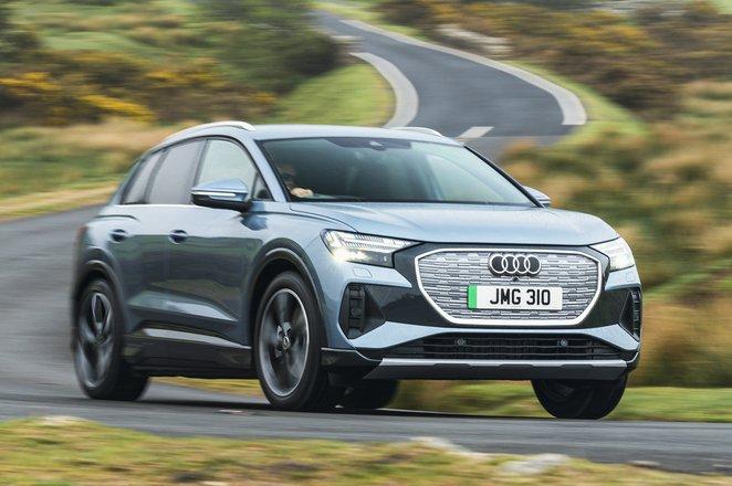 Audi Q4 e-tron 2021 front