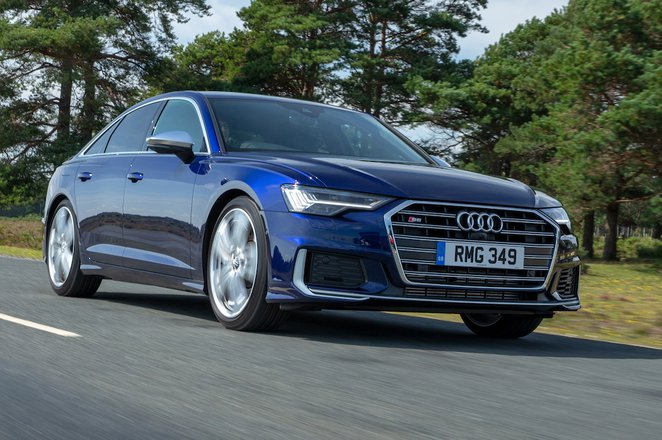 Audi A6 Saloon 2021 front right tracking