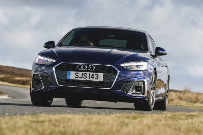 Audi A5 Sportback 2021 front tracking