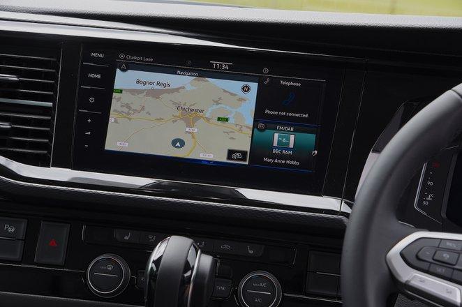 Volkswagen California 2021 interior infotainment