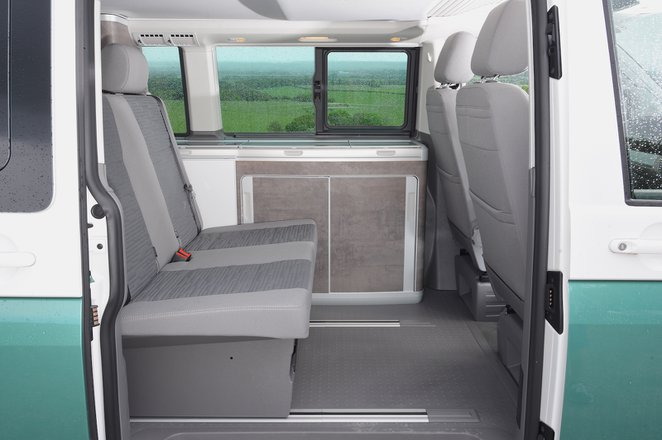 Volkswagen California 2021 interior rear seats
