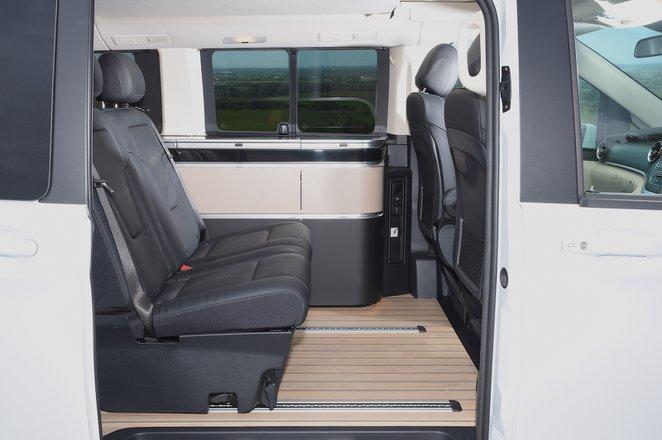 Mercedes V-Class Marco Polo 2021 interior rear seats