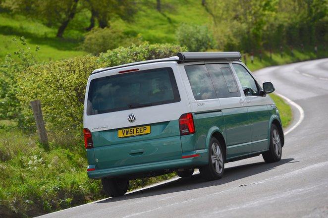Volkswagen California 2021 rear cornering
