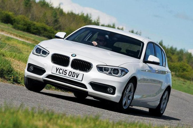 Used BMW 1 Series front
