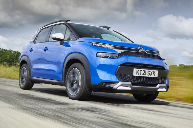 Citroën C3 Aircross 2021 front tracking