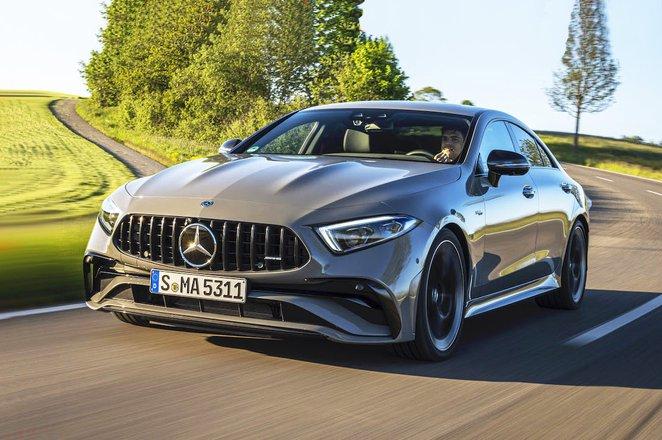 Mercedes CLS 2021 front
