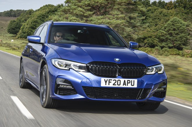 BMW 3 Series Touring 2021 front tracking