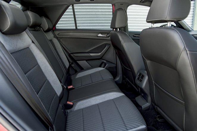 Volkswagen T-Roc 2021 interior rear seats