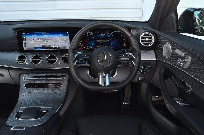 Mercedes E-Class Estate 2021 interior dashboard