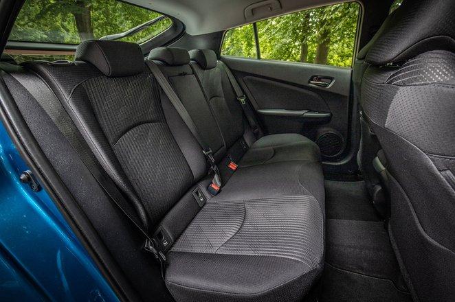 Toyota Prius 2021 interior rear seats