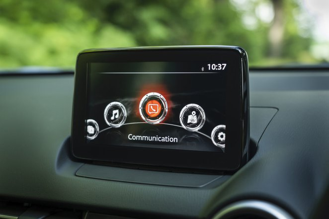 Mazda 2 2022 interior infotainment