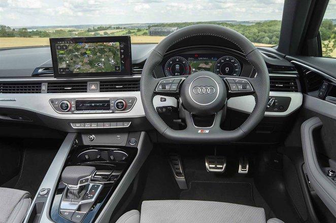 Audi A4 Avant 2021 dashboard