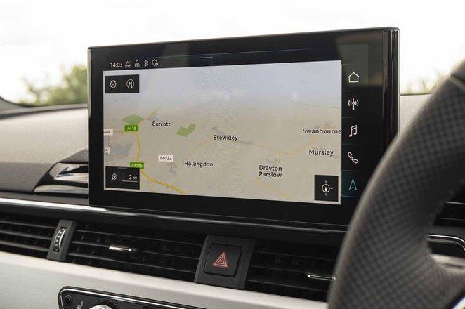 Audi A4 2021 infotainment
