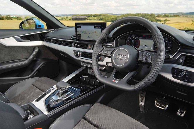 Audi A4 2021 dashboard