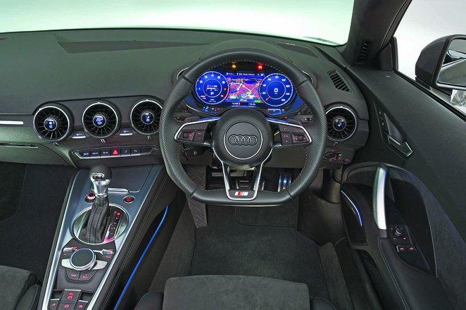 Audi TT Roadster 2019 RHD dashboard