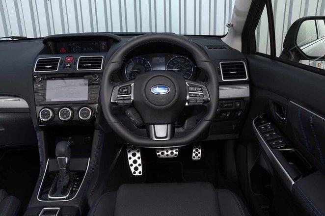 Subaru Levorg 2019 RHD dashboard