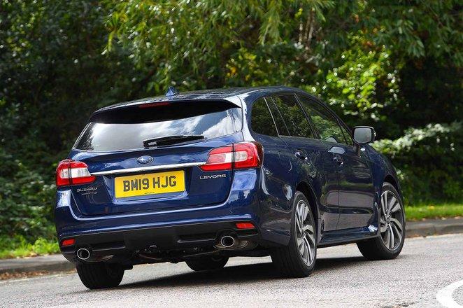 Subaru Levorg 2019 RHD right rear cornering