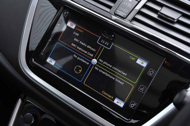 Suzuki SX4 S-Cross 2019 RHD infotainment
