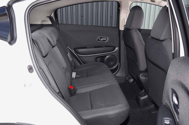 Honda HR-V 2019 rear seats
