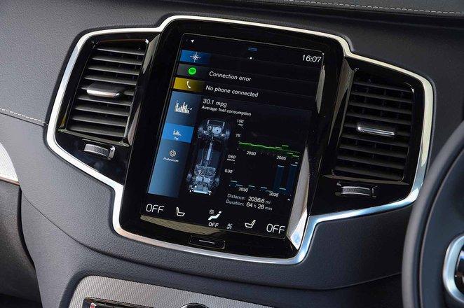 Volvo XC90 2021 infotainment