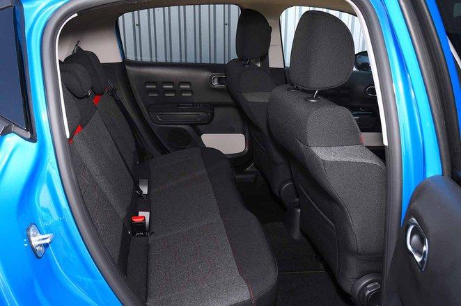 Citroen C3 2021 RHD rear seat