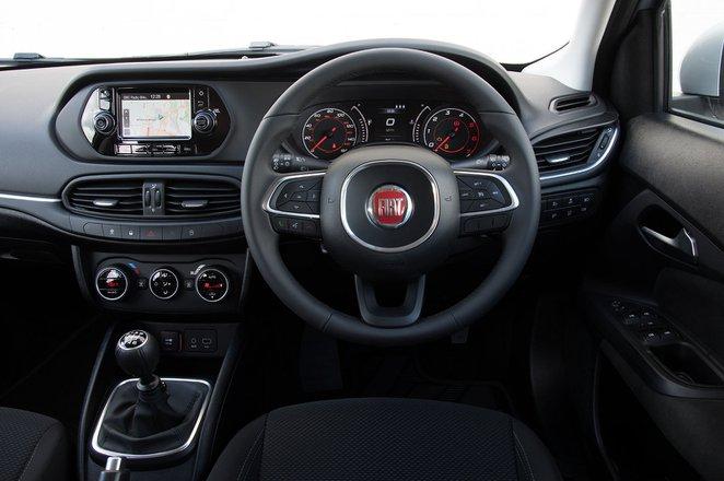 Fiat Tipo RHD dashboard